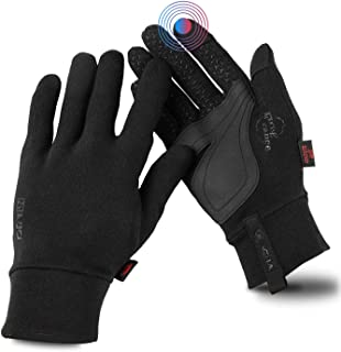 Sponsored Ad - Ovacha Women Winter Warm Touchscreen Gloves Cold Weather Gloves Anti-Slip Lightweight Sports Athletic Hand ...
