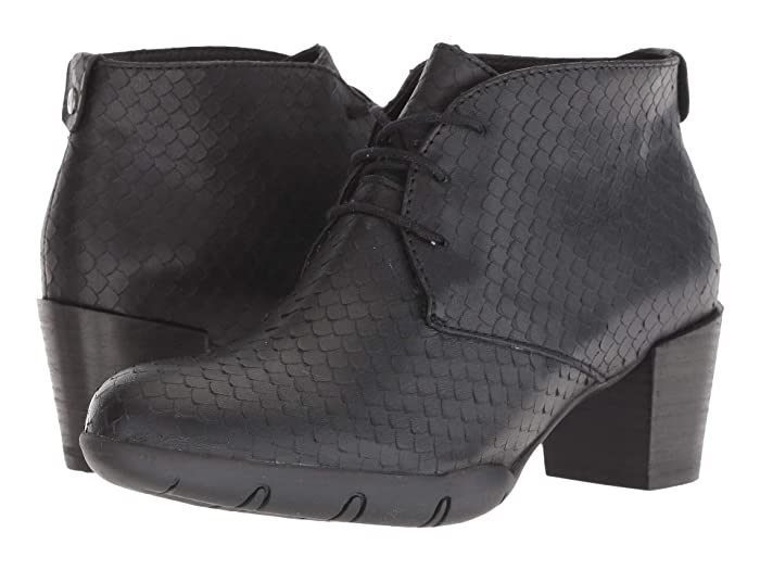 Wolky  Bighorn (Black) Womens Dress Lace-up Boots
