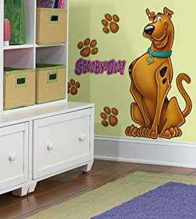 Scooby Doo Peel & Stick Giant Wall Decal 18 x 40in