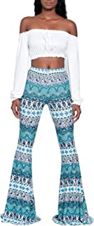 Women's Vintage Flared Pants, Morbuy Yoga Harem Bootcut Trousers Comfortable Beach