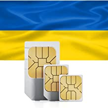 1GB of Mobile Internet Data sim Card to use in Ukraine for 30 Days Rechargeable
