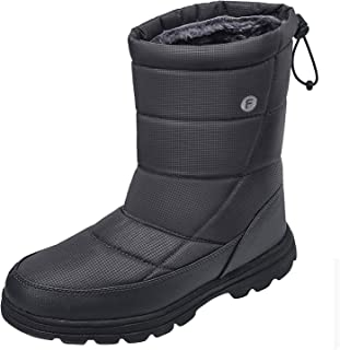 Mens Womens Snow Boots Winter Lightweight Anti-Slip Water...
