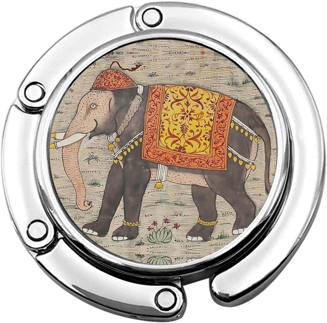 YANIC Purse Hook for Table unisex Cheap mail order sales Vintage Elephant Portable Beautiful