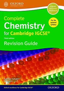 Complete Chemistry for Cambridge IGCSE® Revision Guide: Third Edition