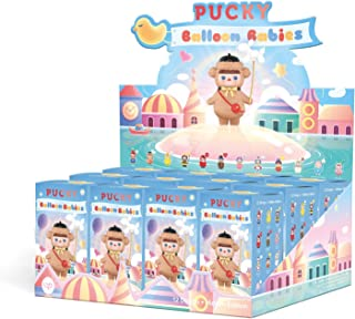 POP MART Pucky Balloon Babies Series Collection Blind Boxes Little Art Toy Collectible Cute Kawaii Mini Toy Figures Gift C...