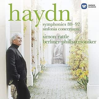 Haydn: Symphonies 88-92, Sinfonia Concertante