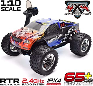 HSP RC Car 1:10 Two Speed Off Road RC Truck Nitro Power 4wd Remote Control Car