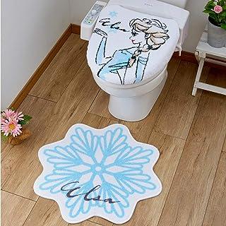 Disney(ディズニー) アナと雪の女王 エルサ トイレ2点セット トイレフタカバー トイレマット SB-487-D