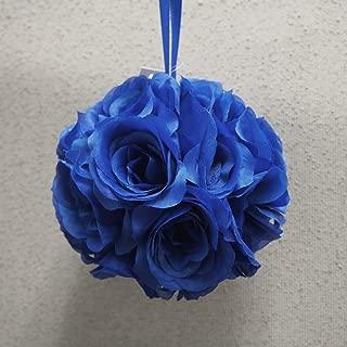 Pomander Flower Balls Wedding Centerpiece, 6-inch, Royal Blue