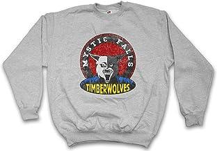 Urban Backwoods Mystic Falls Timberwolves Sudadera para Hombre Sweatshirt Pullover