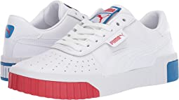 Puma White/High Risk Red/Indigo Bunting