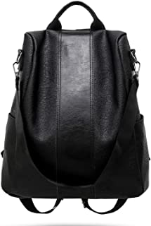 Quality Leather Anti-theft Women Backpack Large Capacity School Bag Travel Bags