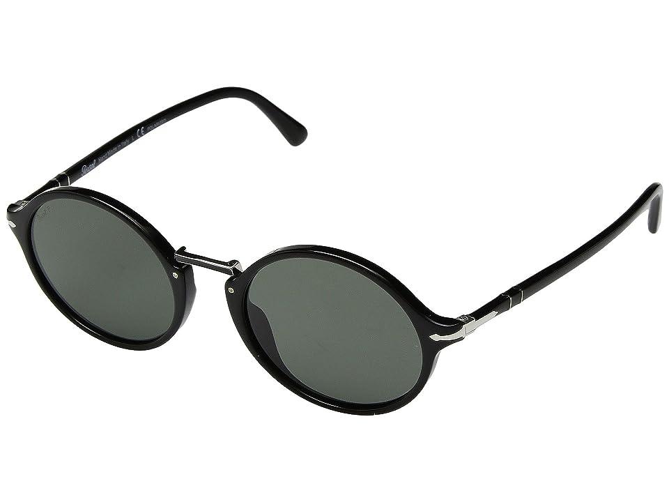 541531b38d373 Persol 0PO3208S (Black Green Polarized) Fashion Sunglasses