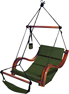 Hammaka Nami Deluxe Hanging Hammock Lounger Chair In Green