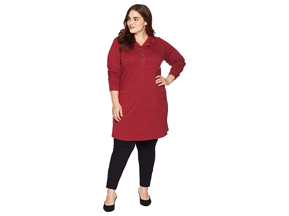 Aventura Clothing Plus Size Lenni Tunic (Tibetan Red) Women