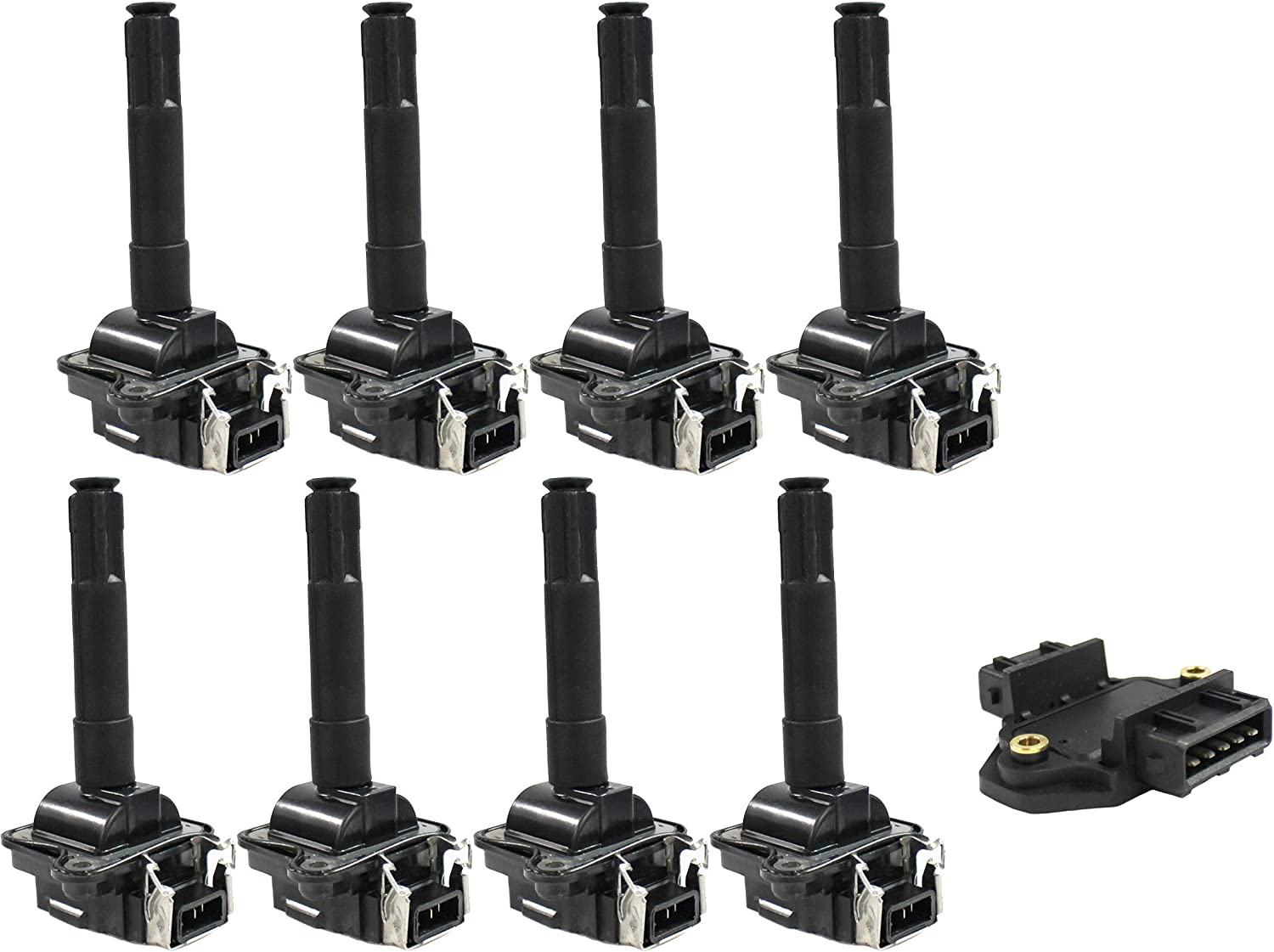 Chicago Mall ENA Ignition Coil and Module System Special Campaign Kit Audi Compatible 199 with