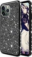 TYWZ Glitter Diamond Case voor iPhone 13 Mini,Bling Strass Beschermende Bumper Siliconen Plating Frame TPU Cover voor Meis...