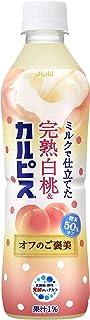 アサヒ飲料 完熟白桃&カルピス オフのご褒美 500ml ×24本