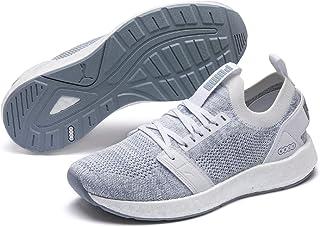 PUMA Women's Nrgy Neko Engineer Knit WN's Sneaker, White-Quarry