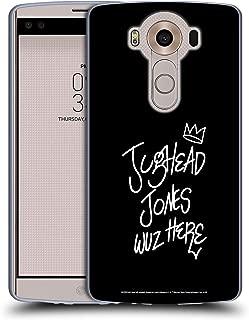 Official Riverdale Jughead Wuz Here Graphic Art Soft Gel Case Compatible for LG V10