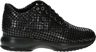 Hogan Luxury Fashion Womens HXW00N00010LF60353 Black Sneakers | Fall Winter 19