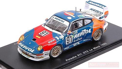 artículos novedosos Spark Model Model Model S5512 Porsche 911 GT2 N.91 LM 1995 A.D'ORL.BORBON-Saldana-DE Castro Compatible con  El ultimo 2018