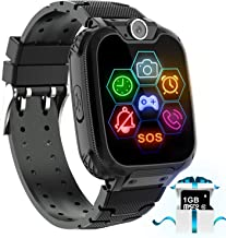 "Kids Game Smart Watch Phone – 1.54"" Touch Screen Game Smartwatches with [1GB.."