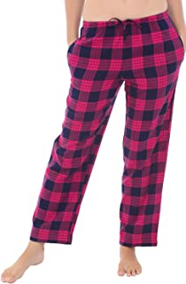 Alexander Del Rossa Women's Flannel Pajama Pants, Long Cotton Pj Bottoms
