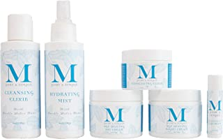 Anti Aging Skin Care Set for Women And Men, Facial Kit Includes Day Cream, Night Cream, Facial Mist, Cleanser, and Exfolia...