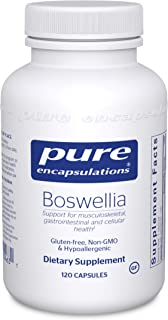 Pure Encapsulations - Boswellia - Herbal Support for Minor Joint Discomfort - 120 Capsules