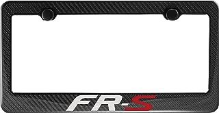 Scion FR-S Carbon Fiber License Plate Frame with Cap