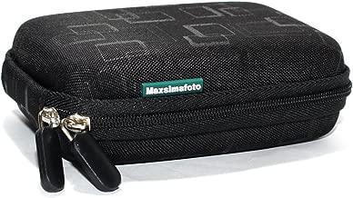 Maxsimafoto Semi Hard case BLACK for Nikon Coolpix S9400 S9500 S9050 W100  Panasonic TZ80 TZ70