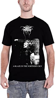 Darkthrone A Blaze in The Northern Sky Official Mens New Black T Shirt