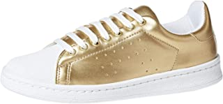 Baldi London Kaitey Shoes For Men, Gold