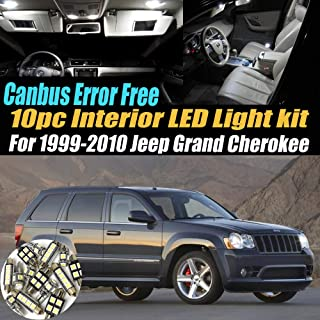 Best 2018 jeep grand cherokee led interior lights Reviews