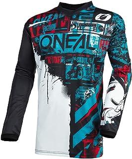 O/'Neal Element Kinder MX Jersey SHOCKER Gelb Motocross MTB Shirt Mountainbike DH