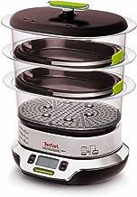 Tefal VS4003 Cuiseur vapeur Vitacuisine Compact 1800 W avec livre de recettes (en langue italienne)