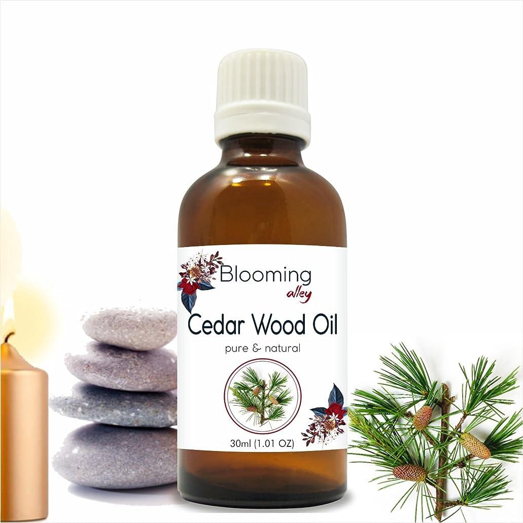 ピクニックをするラババックCedarwood Oil (Juniperus Virginiana) Essential Oil 30 ml or 1.0 Fl Oz by Blooming Alley