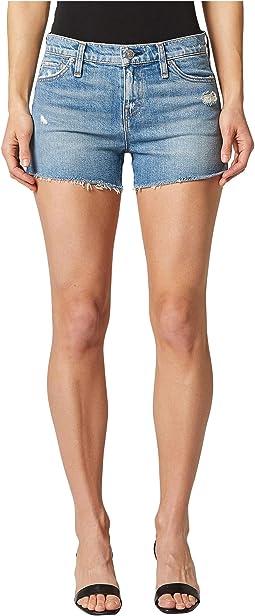 Gemma Mid-Rise Cutoffs Shorts in Worn Lullaby
