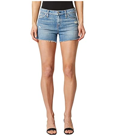 Hudson Jeans Gemma Mid-Rise Cutoffs Shorts in Worn Lullaby (Worn Lullaby) Women