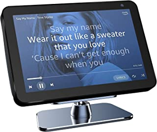 Echo Show 8 Stand,VMEI Metal Stand for Echo Show 8,Tilt Echo Show 8 Screen Up and Down,All Made of Metal, Without Any Plas...