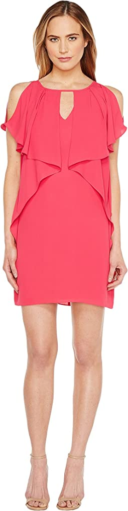 Drapey Sleeve Shift Dress