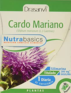 Drasanvi Cardo Mariano 30 Capsulas Nutrabasicos Drasanvi - 0