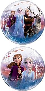 "Qualatex 22"" Frozen 2 Bubble Balloon, Multicolor"