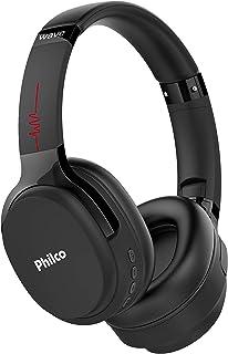 Fone de ouvido, Conexão Bluetooth 5.0, 150mW, Concha almofadada, PFO01BTP, Preto, Philco