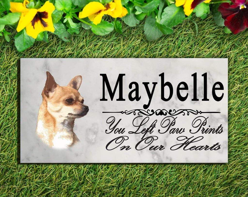 Broad Bay Chihuahua Dog Personalized Memorial Sacramento Mall Stone 1 year warranty Si