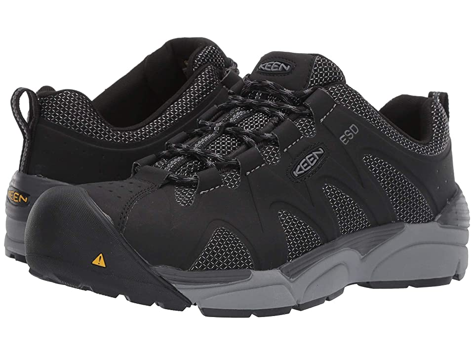 Keen Utility San Antonio Aluminum Toe ESD (Black/Steel Grey) Men