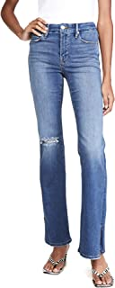 Good American Women's Good Flare with Split Hem Jeans