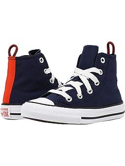 Converse chuck taylor all star ii hi deep bordeaux white navy ...