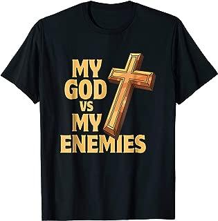 Best my god vs my enemies shirt Reviews